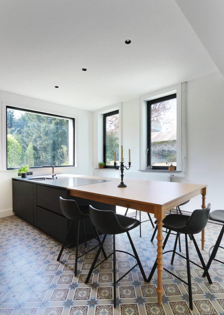 Architecte D Intérieur Lille design et pose d'une cuisine d'antan revisitée par gabarit